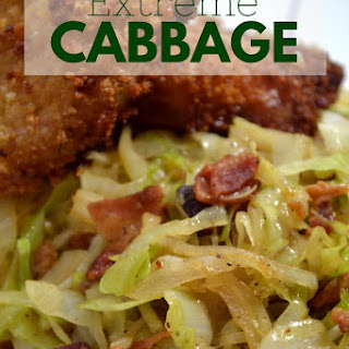 Extreme Cabbage - Simple Side Dish.