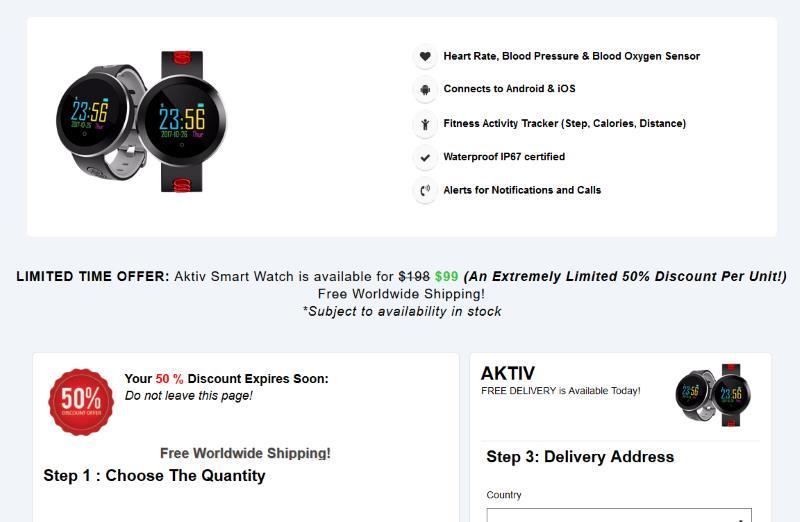 buy One Step Watch