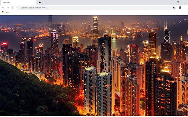 Hong Kong New Tab & Wallpapers Collection