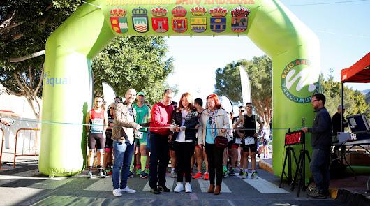 Francis Vaca gana en los metros finales el I Duatlón de Rioja