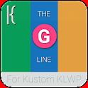The 'G' Line for Kustom KLWP