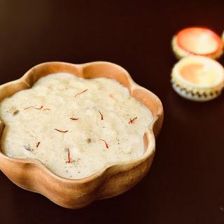 Rice Pudding / Kheer - Instant Pot.