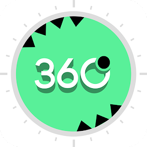 360 degrés