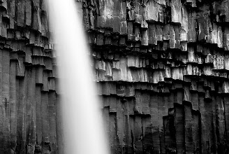 Photo: A few months ago I shared a photo of Svartifoss, a beautiful waterfall in the Skaftafell mountains in Iceland. This one was taken shortly after that photo. You couldn't tell it's a waterfall? That was the whole idea:) Have a good week all my friends here.  #minimalmonday   #monochromemonday #hqsppromotion   #BWFineArtLE #moodymonday #FineArtPls #beautifulmundanemonday #PlusPhotoExtract #potd #BreakfastClub #breakfastartclub #photography #NatureMonday #mountainmonday #europeanphotography  #LandscapePhotography