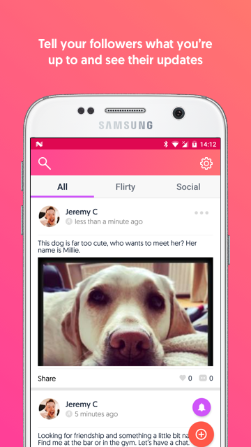MoodChimp – one social app for dating & friendship- screenshot