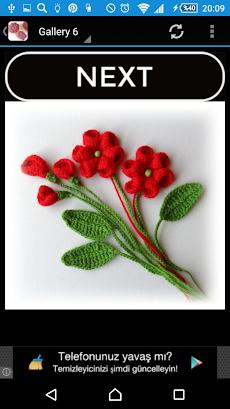 かぎ針編みの花のおすすめ画像4