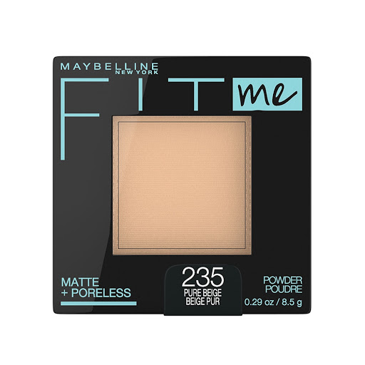 compacto fit me maybelline matte+poreless pure beige