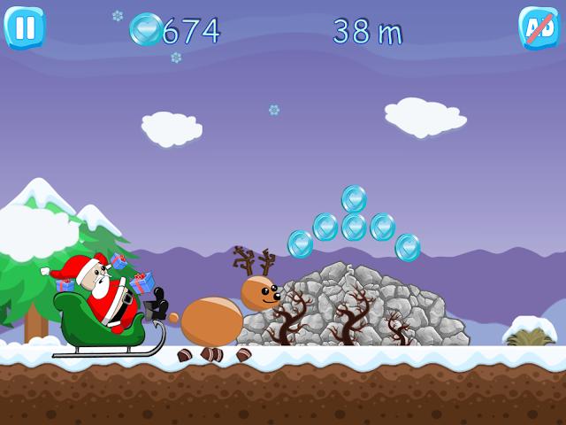 android Xmas Ride - Santa Escape Screenshot 2