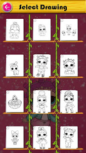 Coloring Pages for Surprise Dolls