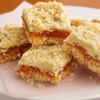 Apricot-Caramel-Coconut Bars.