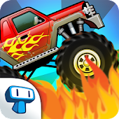 Monster Truck - Climb Racing