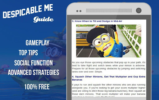 New Guide for Minion Rush