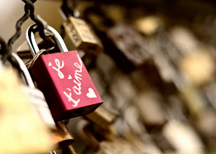 Photo: Who do you love? Paris, France. 2011.  In paris, there is a bridge where couples in love will bring a padlock, attach the lock to the bridge, and throw the key into the river Seine.  #Paris2011_RicardoLagos