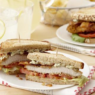 Onion & Herb Chicken Breast BLT Sandwich.