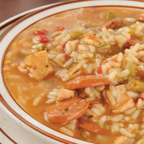 Slow-Cooker Chicken & Sausage Gumbo
