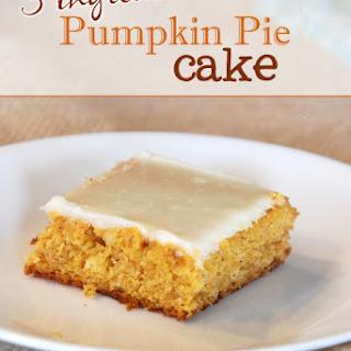 3 ingredient Pumpkin Pie Cake