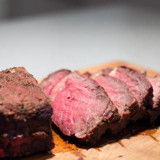 Smoked Roast Beef.