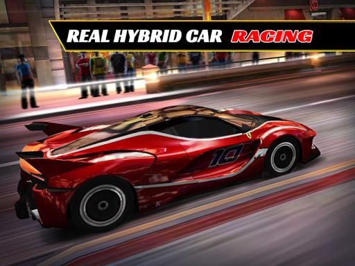 真正的混合动力赛车3D