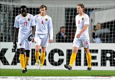 Le jour où la Belgique s'est inclinée en Estonie