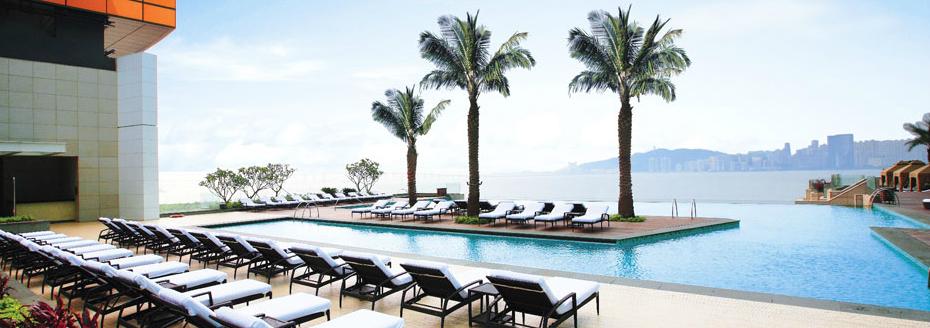 Pool at the MGM Macau
