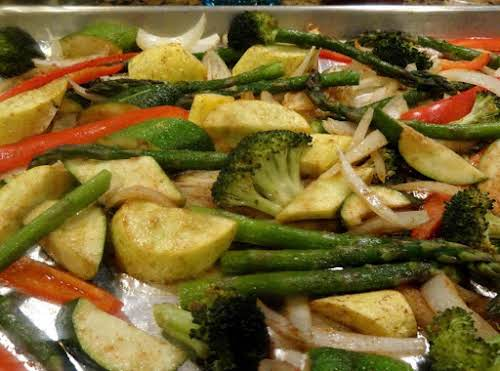"Oven Roasted Vegetables ""I've made this 3 times now and am sharing..."