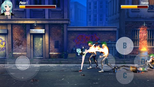 Miku Street Fighter apk screenshot