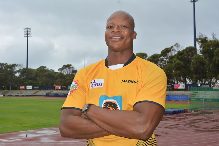 Luyolo Dapula is captaining the FNB Madibaz rugby team in the Varsity Cup this season
