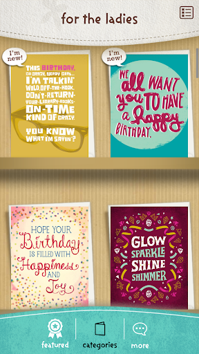 justWink Greeting Cards 2.7.3 screenshots 3
