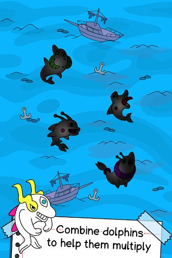 Dolphin Evolution - Mutant Porpoise Game apkdebit screenshots 3