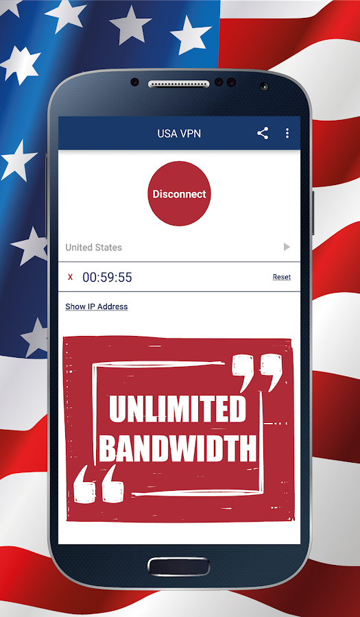 USA VPN- screenshot