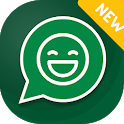 Custom sticker for WhatsApp : Sticker maker icon