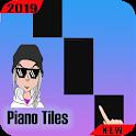 Billie Eillish Piano Tiles icon