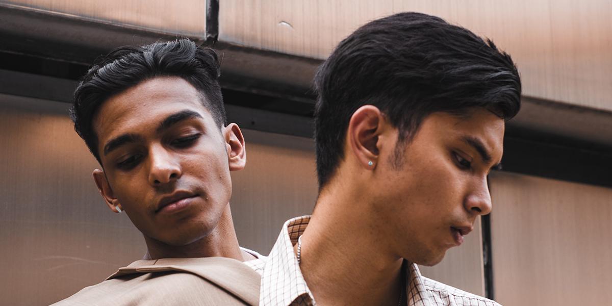 men's earrings and hoops