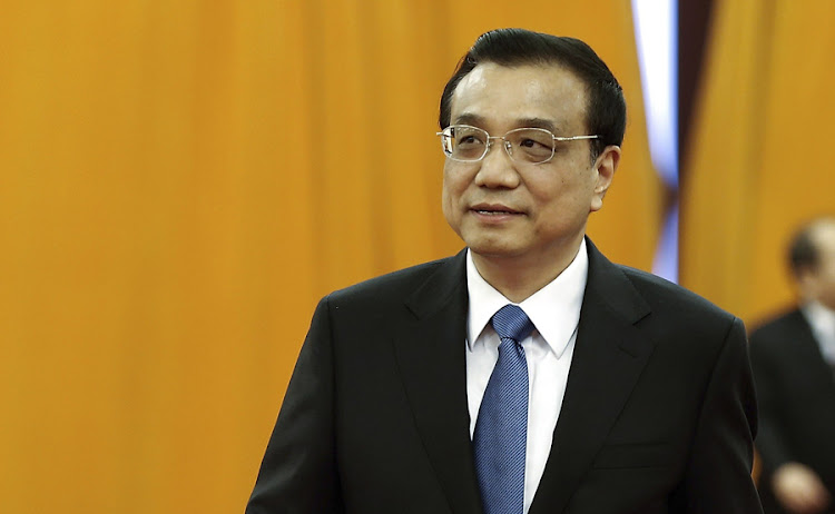 Li Keqiang. Picture: REUTERS