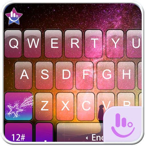Fantasy Aurora Keyboard Theme app (apk) free download for Android/PC/Windows