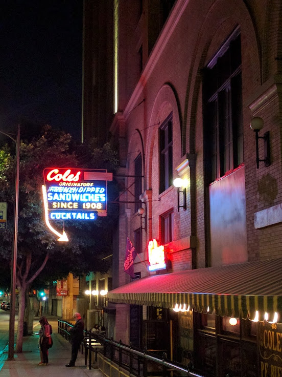 You can't miss the sign out front of Cole's.