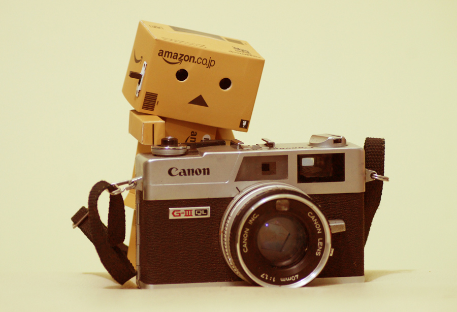 Danbo Photographer by Joseph Basukarno - Artistic Objects Toys ( danbo, still life, toys )