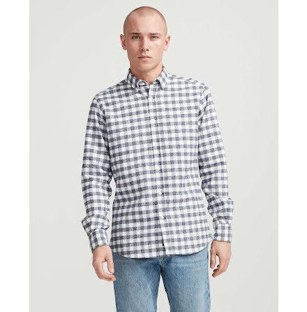Holebrook Christos shirt navy off white