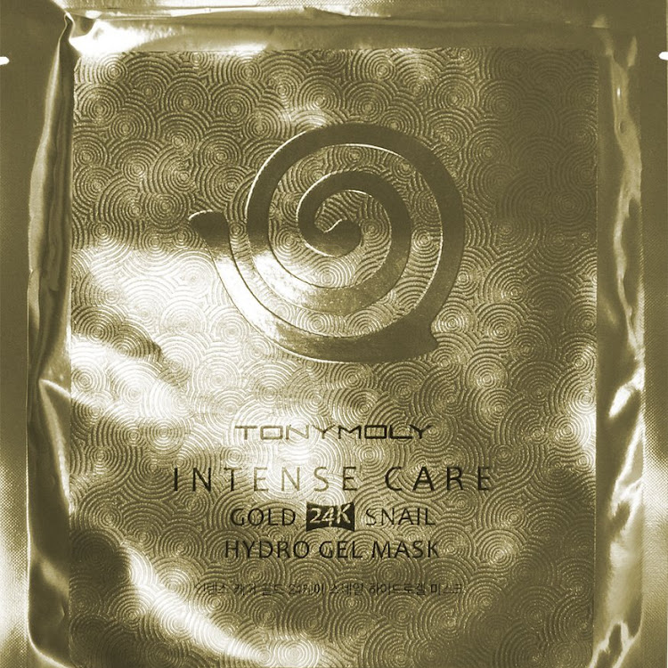 Tony Moly Intense Care Gold24k Snail HydroGel Mask by claimed.my
