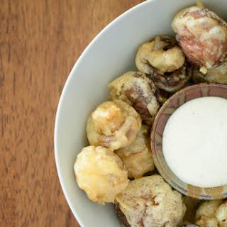 Tempura-Style Fried Mushrooms