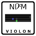 NDM - Violin (Learning to read musical notation) Icon