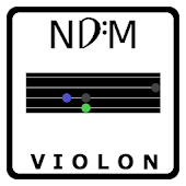 NDM-Violon (Music Notes)