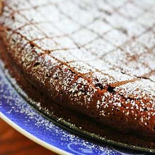 Chipotle Flourless Chocolate Cake.