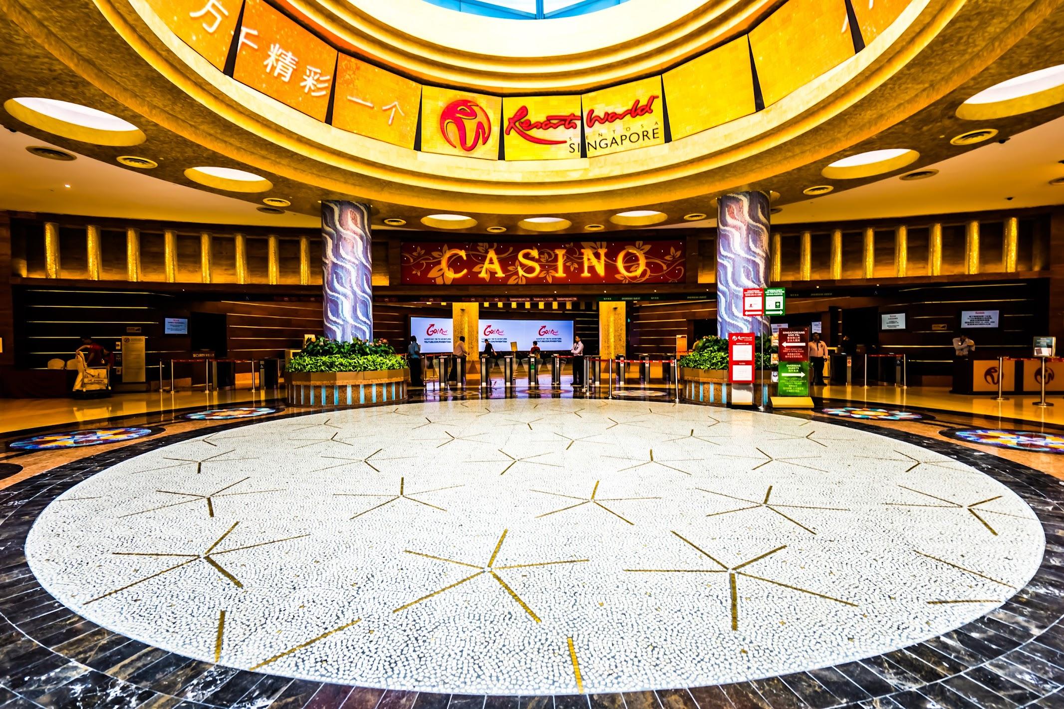 シンガポール セントーサ島 カジノ