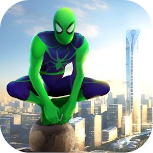 Spider Rope Hero Gangster Crime City 1.0.26 by kueloxstudio logo