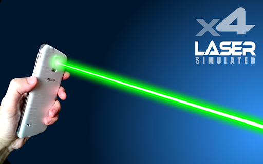 XX Laser Pointer Simulated Screenshot