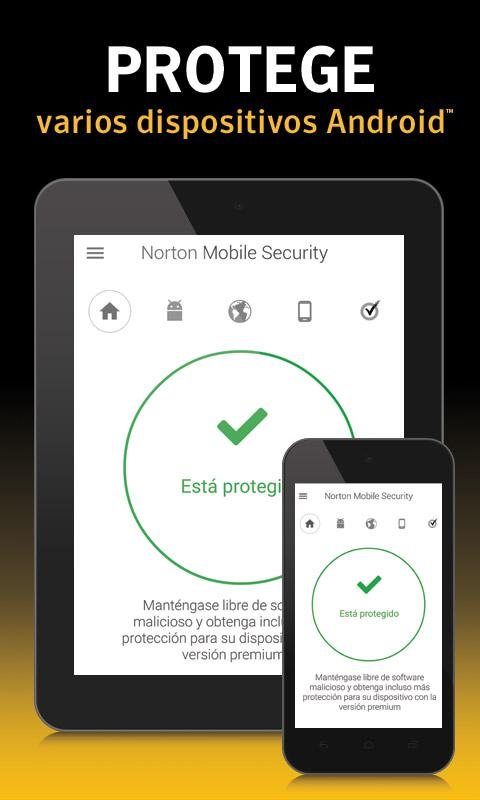 Norton Antivirus y Seguridad: captura de pantalla