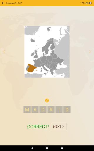 World Geography Quiz: Countries, Maps, Capitals screenshots apkspray 12