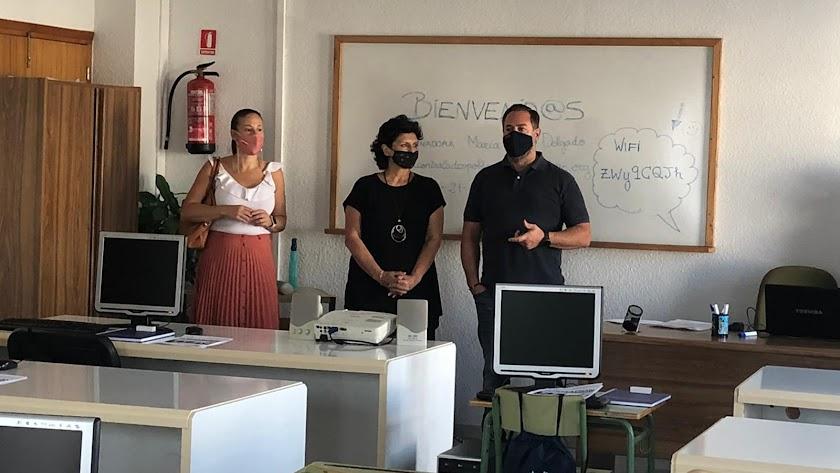 Inauguración del curso \'Formación para Emprender\' en la localidad.