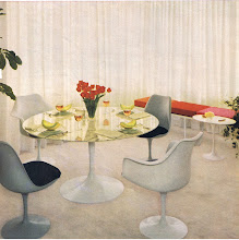 Photo: Use colorful accent, and varying textures to liven up an all white room